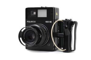 Polaroid 600 SE con obiettivo123mm F.4,7