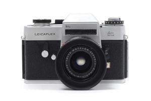 Leicaflex SL cromata con Elmarit 35/2,8