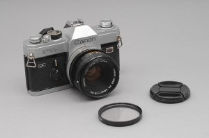 Canon FTb QL   con 50/1,8 FD