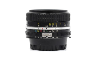 50mm F.1,8 Nikon  AI con SCATOLA