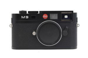 Leica M9 nera/black con SCATOLA
