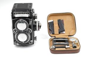 Rolleiflex Planar 2,8 mod.E   1956/1959 completa di Rolleikin