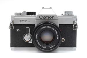 Canon FTb QL cromata con 50/1,8