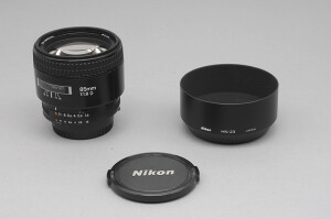 """85mm F.1,8 Nikon AFD """"Made in Japan"""""""
