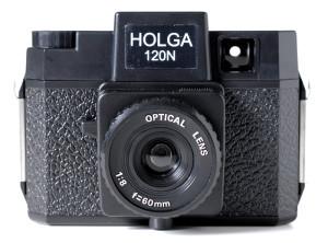Holga 120N nera NUOVA con scatola