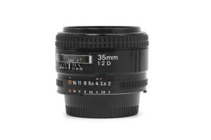 (Italiano) 35mm F.2 Nikon AFD con Scatola