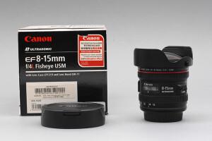 8-15mm F.4 Canon EOS L Fisheye USM Ultrasonic