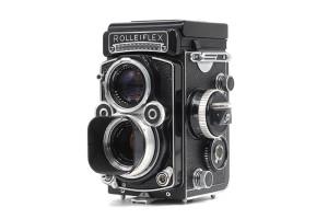 Rolleiflex 3,5F con Planar 75mm F.3,5