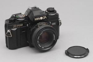 Minolta X-700 con 50/2