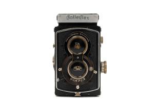 (Italiano) Rolleiflex Standard con Tessar 7,5cm F.3,5 1934 circa