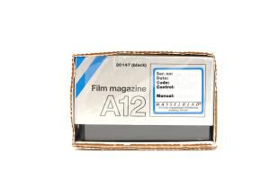 (Italiano) Hasselblad magazzino A12 Nero/Black  Rif.30147 (NUOVO MAI USATO)
