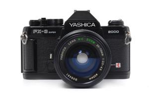 Yashica FX-3 Super 2000 con 35-70mm
