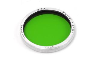 Rollei Filter Green/Verde III (-1,5)