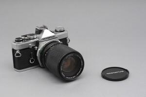 Olympus OM-1 Cromata con 35/105mm