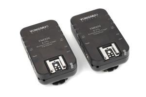Yongnuo YN-622C Wireless TTL Flash Trigger 2 trasmettitori