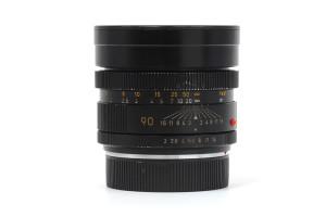 90mm F.2 Leica Summicron-R (3 camme)