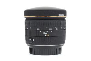 8mm F.4 Sigma/Canon EOS EX Fisheye 180°