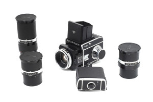 Rolleiflex SL66 Kit 80/2,8 50/4 150/4 250/5,6