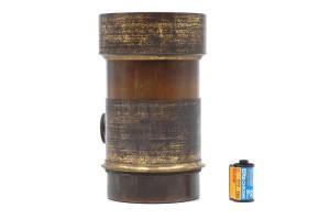 Petzval Lens Brass Meade Brother New York 1853 circa