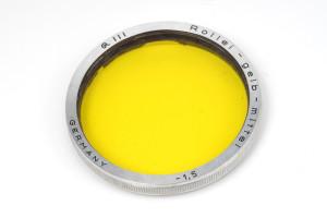 Rollei Filter Giallo/Yellow III (-1,5)