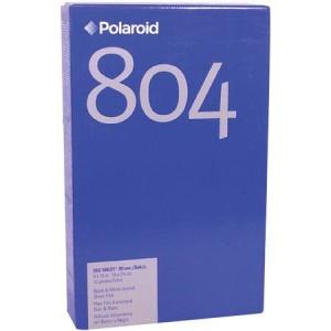 Polaroid 804  ISO100  8×10 black & white instant film