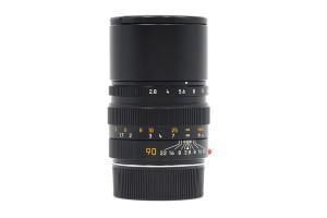 90mm F.2,8 Leica Elmarit M Nero/Black