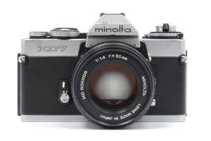 Minolta XD7 con Rokkor 50/1,4