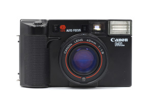 Canon AF35ML con 40/1,9