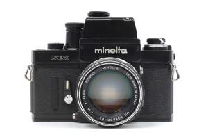 Minolta XM con Rokkor PF 58/1,4