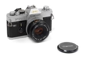 Canon FT QL cromata con 50/1,8