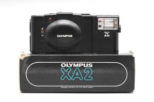 Olympus XA 2  con 35mm F.2,8