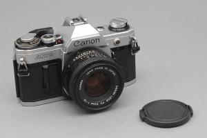 Canon AE-1 con 50mm F.1,8 New