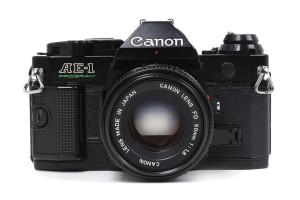 Canon AE-1 program Nera/Black con 50/1,8