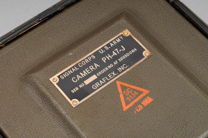 Speed Graphic 4×5 Signal Corps U.S.ARMY