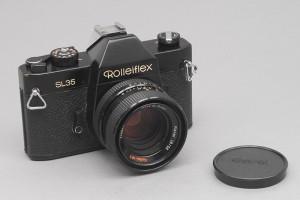 Rolleiflex SL35 con Planar 50/1,8